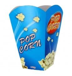 Paper Popcorn Box Large Size 150gr 8,7x13x20,3cm (250 Units)
