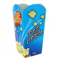Paper Popcorn Box Medium Size 90gr 7,8x10,5x18cm (25 Units)