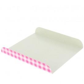 Paper Tray Waffles Pink 15x13cm (100 Units)