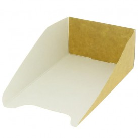 Paper Container Waffles 16x10cm (100 Units)