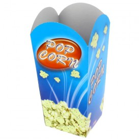 Paper Popcorn Box Small Size 45gr 6,5x8,5x15cm (700 Units)
