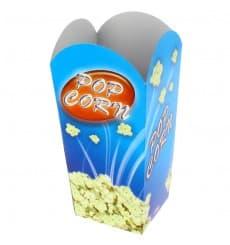 Paper Popcorn Box Small Size 45gr 6,5x8,5x15cm (25 Units)