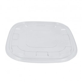 Plastic Lid PET for Bowl Clear 27x27cm (50 Units)
