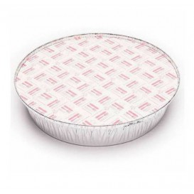 Paper Lid for Foil Pan Round Shape 1425ml (50 Units)
