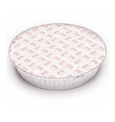 Tapa Cartón Envases Round shape para Pollo 1900ml (125 Units)