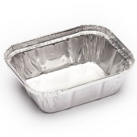 Foil Pan 250ml 12,8x10x3,2cm (100 Units)