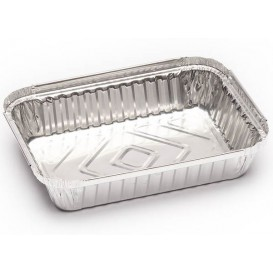 Foil Pan 580ml 18,5x13,5x3cm (125 Units)