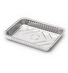 Bandeja de Aluminio 360ml 156x116mm (100 Units)