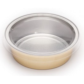Plastic Lid PVC for Container 140ml (166 Units)