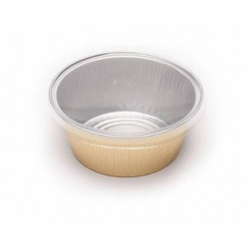 Plastic Lid PVC for Container 135ml (166 Units)