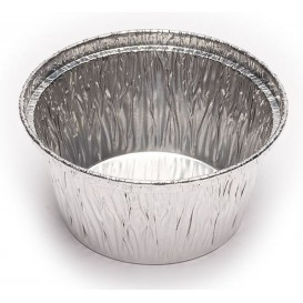 Foil Pan Pastry Round Shape 110ml (2000 Uds)