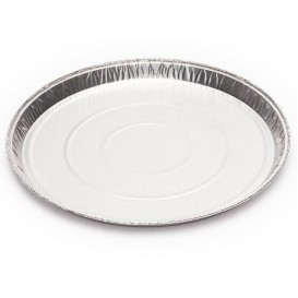 Foil Pan Round Shape 20cm 240ml (1500 Uds)