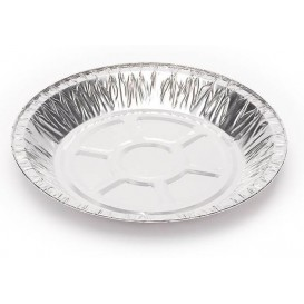 Foil Pan Round Shape 20,5cm 375ml (1400 Uds)