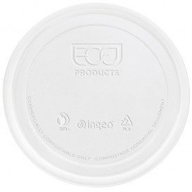 Lid for Tub Deli Container PLA 235,355,470,940ml (500 Units)