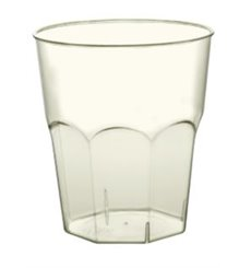 Plastic Cup PLA Hard Biodegradable Clear 350ml (20 Units)