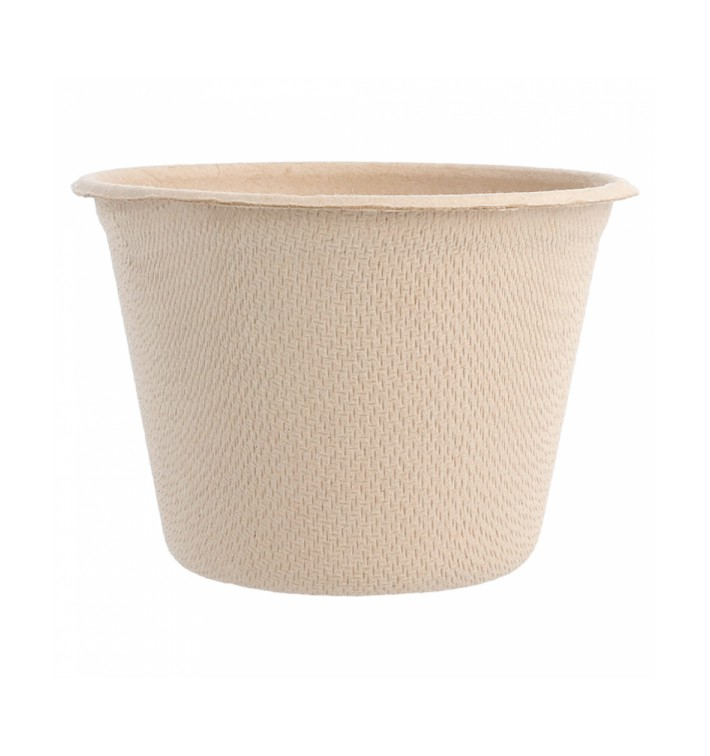 Sugarcane Container Natural 140ml (50 Units)