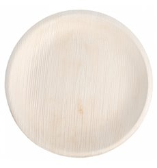 Palm Leaf Plate Round Shape 18 cm (25 Units)