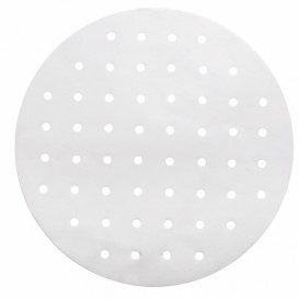 Greaseproof Paper for Bambu Steamer White Ø30 cm (250 Units)