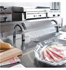 Food Wrap Dispenser Stainless Steel Serrated Cutter 45 cm (1 Unit)