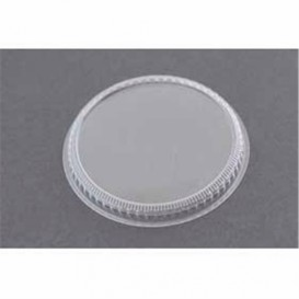 Plastic Lid for Plastic Tasting Cup PS Clear 8,3cm (200 Units)
