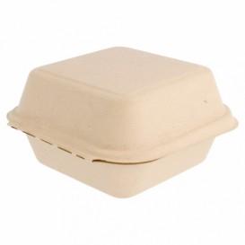Sugarcane Burger Box 152x152x84mm (600 Units)