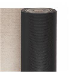 Paper Roll of Gift Wrap Kraft Black 100m (1 Unit)