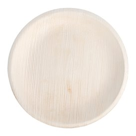 Palm Leaf Plate Round Shape 18 cm (200 Units)