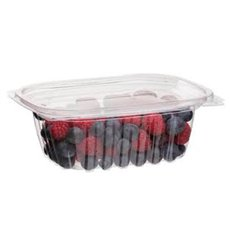 Cornstarch Deli Container with Lid PLA Compostable 355ml (100 Units)