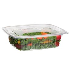 Cornstarch Deli Container with Lid PLA Compostable 710ml (200 Units)