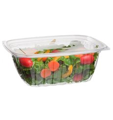 Cornstarch Deli Container with Lid PLA Compostable 940ml (200 Units)