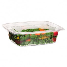 Cornstarch Deli Container with Lid PLA Compostable 1420ml (50 Units)