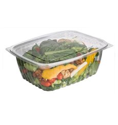 Cornstarch Deli Container with Lid PLA Compostable 1890ml (200 Units)