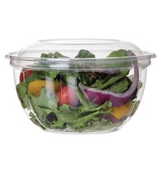 Salad Bowl with Lid PLA 530ml (50 Units)