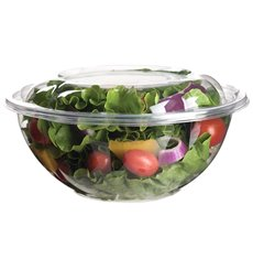 Salad Bowl with Lid PLA 710ml (50 Units)