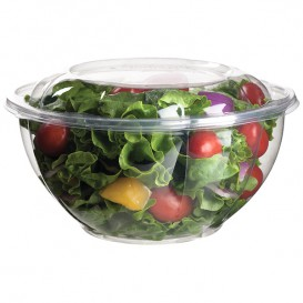 Salad Bowl with Lid PLA 940ml (150 Units)