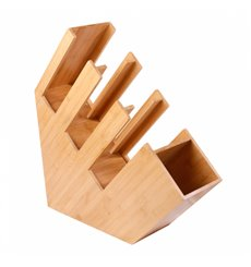 Bamboo Cup, Straw and Lip Organizer 14x50x50 (1 Unit)
