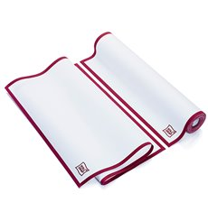"Dishcloth Roll ""Roll Drap"" Edgings Burgundy 40x64cm P40cm (10 Units)"