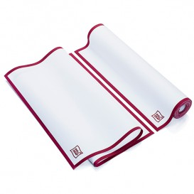 "Dishcloth Roll ""Roll Drap"" Edgings Burgundy 40x64cm P40cm (200 Units)"