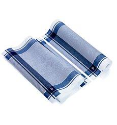 "Dishcloth Roll ""Roll Drap"" Vintage Blue 40x64cm P40cm (10 Units)"