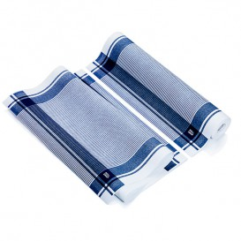 "Dishcloth Roll ""Roll Drap"" Vintage Blue 40x64cm P40cm (200 Units)"