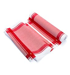 "Dishcloth Roll ""Roll Drap"" Vintage Red 40x64cm P40cm (10 Units)"