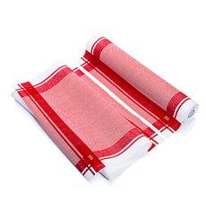 "Dishcloth Roll ""Roll Drap"" Vintage Red 40x64cm P40cm (10 Units)"