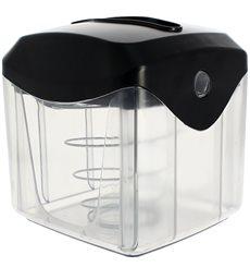 Napkin Dispenser ABS Black 15,5x13,5x15,0cm (20 Units)