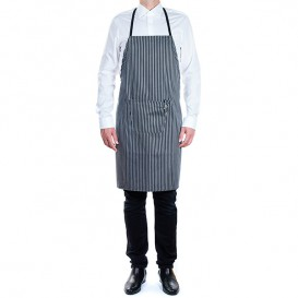 Disposable Plastic Apron TST PP White 60x84cm (10 Units)