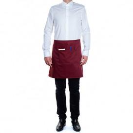 Serving apron pocket Burgundy 75x50cm (20 Uts)