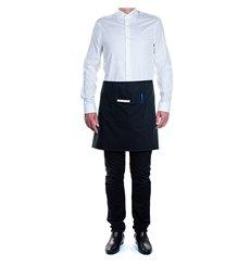 Serving apron pocket Black 75x50cm (1 Unit)