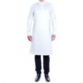Serving apron bib White 75x90cm (1 Unit)