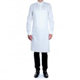 Serving apron Plasticized White 75x90cm (20 Units)