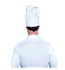 Hat Chef Cotton White (1 Unit)