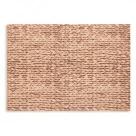 """Cotton Placemat """"Day Drap"""" Raffia 32x45cm (72 Units)"""